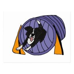 xx_dog_agility_tunnel_cartoon_postcard-r9bebc4c16b9a484685f3dd6d7a37b2e8_vgbaq_8byvr_512