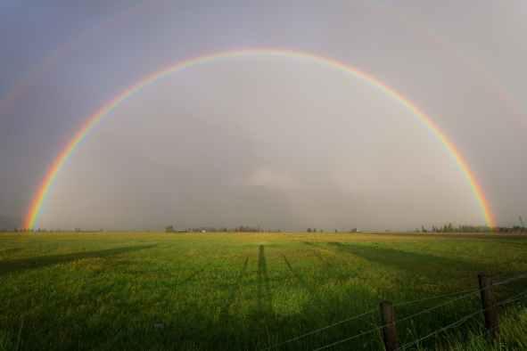 RainbowHalfCircle