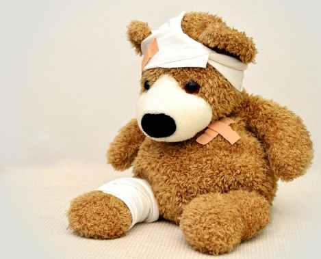 TeddyBearBandaged